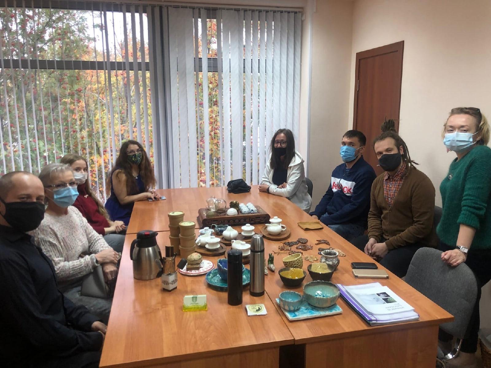 Cостоялась встреча с Ингой Николаевной Груздевой